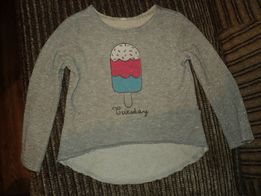 реглан Бемби с принтом мороженое на 4-6 лет 7c652b5b29c51