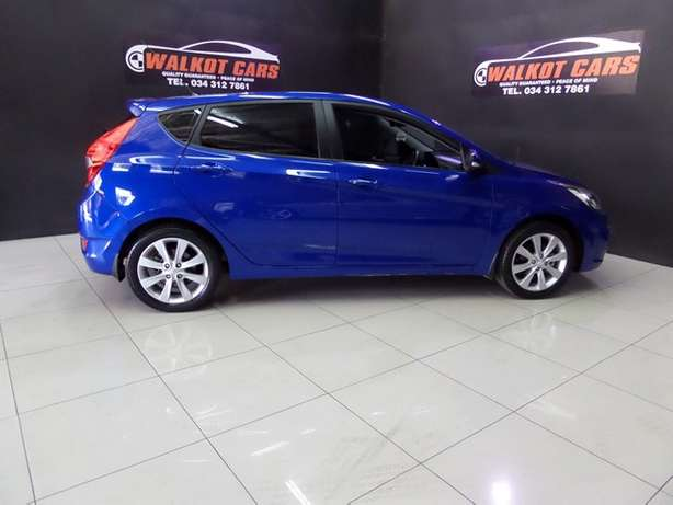 2014 Hyundai Accent 1.6 Fluid 5DR A/T Newcastle - image 3