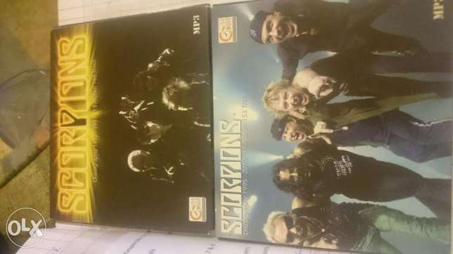 Scorpions two cd mp3s