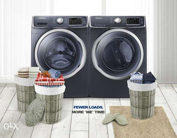 Heavy Duty Samsung Front-Load Washer and Electric Front-Load Dryer Lavington - image 1