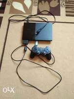 PS2 ,chipped,a pad and a memory card