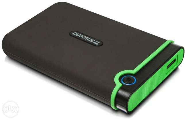2 tb transcend external with 3.0 usb from shop with warranty City Centre - image 1