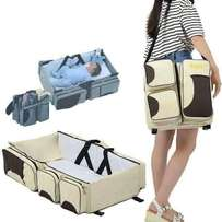 Travel cot a bag