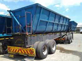 2007 Top Trailers Side Tippers 45 Cube