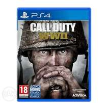 Latest call of duty World War II ps4