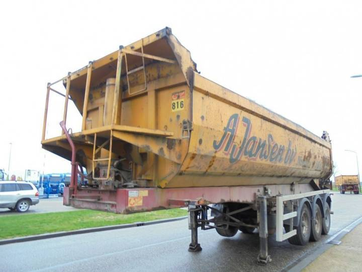 ATM 3-Axle 27m3 Tipper / Steel-Stahl Box/Chassis / NL Trailer - 2002