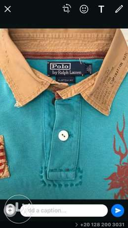 Ralph Lauren original from America size Large عرض ٥٦سم