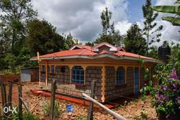 2 bedroom bungalow on 1/4 acre for sale at Chuka