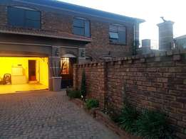 Double storey house to let-Security estate-Beyerspark,Boksburg