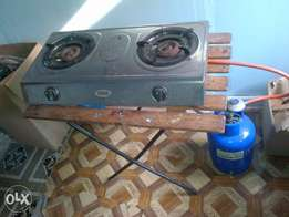 gas cylinder nd 2 plate burner wid pipe R550