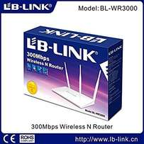 LB-LINK Wireless router 300Mbps model:BL-WR3000