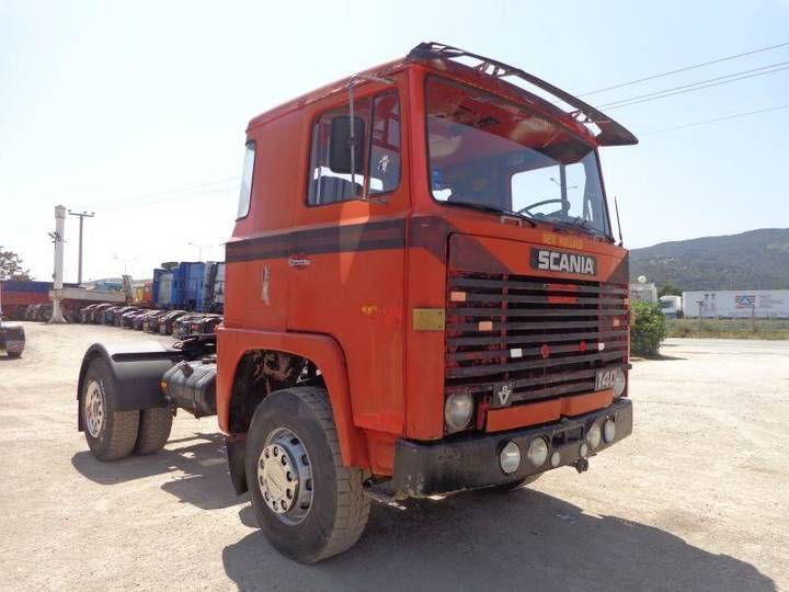 Scania VABIS LBS140(4X2) - 1972