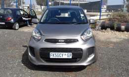 Kia Picanto 1.0 Model 2015 5 Door Colour Silver Factory A/C&CD Player