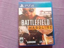 Ps4 battle field hardline for sale or swap