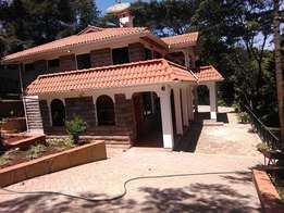 An outstanding 5 bedroom house for rent in Kitisuru