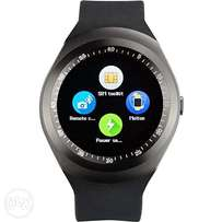 Y1 Sporty Smart Phone Touchscreen Watch With Sim ToolKit (Mpesa Menu)