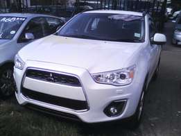 2014 Mitsubushi ASX 2.0 White FINANCE AVAILABLE