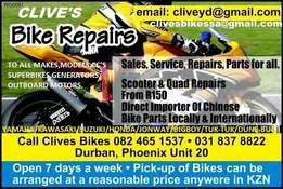 we buy chinese bikes dead or alive at CLIVES BIKES