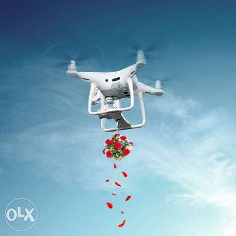 Drone for rental with licensed operator