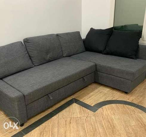 sofa bed from ikea like new contact whatsapp please free delivery