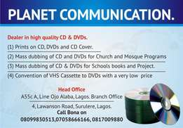 DVDs and CD production