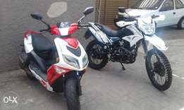Two bikes for car