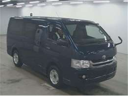 Toyota hiace 7l box matatu diesel 1KD engine blue finance terms accept