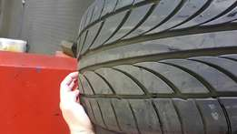 """19"""" Tyres for sale. 235 35 and 265 30"""