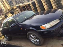 Toyota Camry 1999, sound engine with first body and neatly used