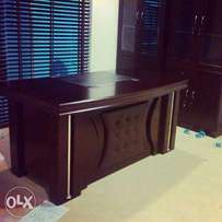 QG Pure Wooden Office Executive Table 1.6m(New)