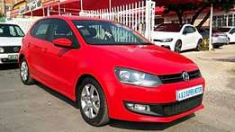 Red 2012 Volkswagen Polo 1.4 Comfortline For Sale
