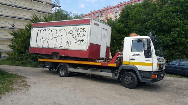 Super Transport przyczep kempingowych Laweta _ Pomoc Drogowa _ Gdańsk RB72