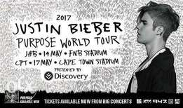 Justin Bieber tickets for sale