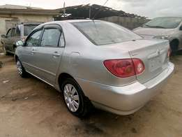 Very clean tokunbo Toyota Corolla
