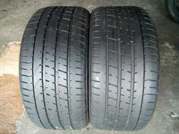 255/35/18 pirelli runflat tyres for sell