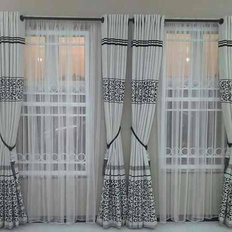 Window curtains , rings design. Lagos Mainland - image 1