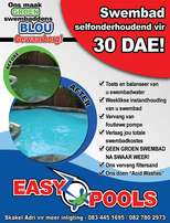 Swimming pools Once off cleaning and Weekly maintenance
