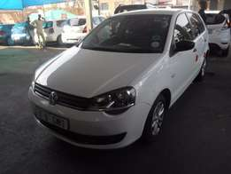 White VW Polo Vivo 1.4 Engine