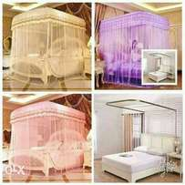 Two stand mosquito nets