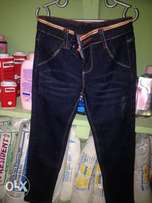 Blue jeans for kids