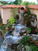 Landscaping and garden decoration