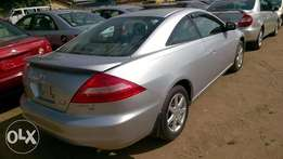Very Clean Tokunbo Honda Accord Coupe 03