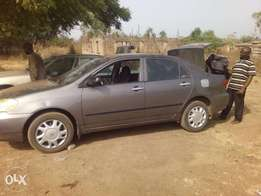 7months old registered Toyota corolla for sale