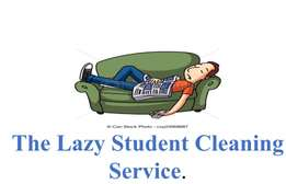 The Lazy Student Cleaning Service.