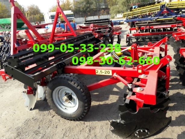 Борона ДИСКОВАЯ для трактора 2.1-2.4-2.5 метра захвата для ЮМЗ, МТЗ Днепр - изображение 4