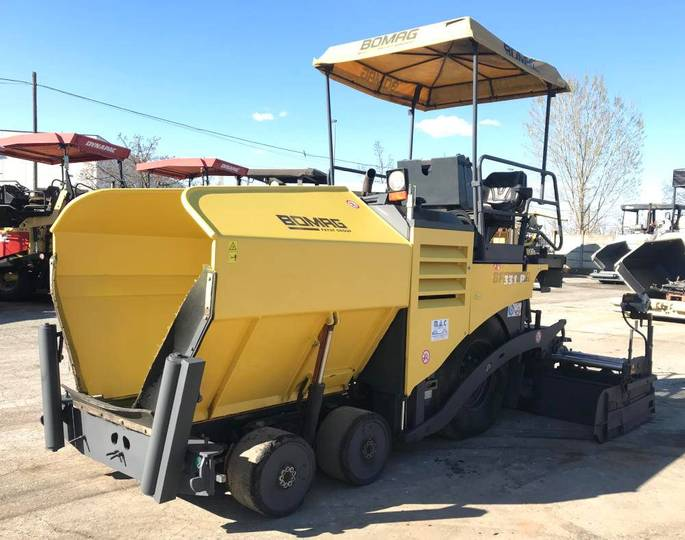 BOMAG Bf 331 - 2007