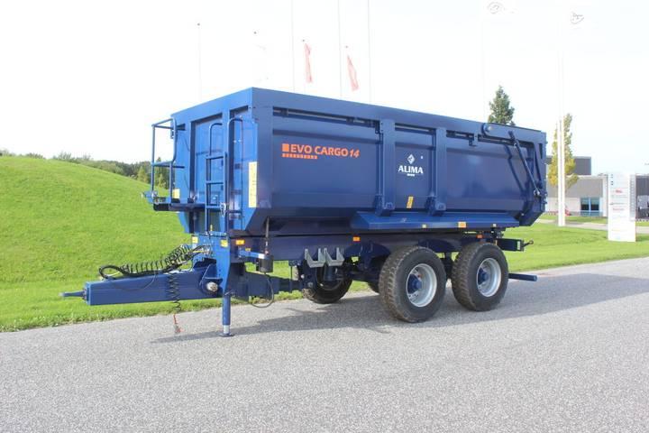 AMT New  ALIMA EVO CARGO 14 landbrugsvogn 6518 dump trailer