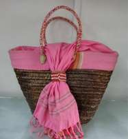 African Basket/ Purse for shopping