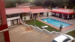 Service 2br to let in kilimani for 120k with gym and swimming pool