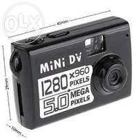 Nanny Camera, Spy Camera, Hidden Camera [Mini DV with 8GB free Memory